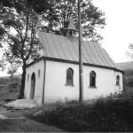 Elewacja kaplicy lata 80-te