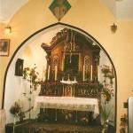 Wnętrze kaplicy lata 80-te