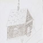 Rycina - pierwotna kapliczka