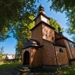 Stary zabytkowy kościół po drugim remoncie