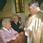 16 pażdziernik 2006 rok - 50 rocznica ślubu Julia i Jan Pietrzak