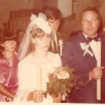 25 sierpień 1984 rok - ślub Halina i Tadeusz Bubiłek