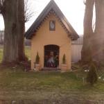 Kapliczka na osiedlu Ceklarze