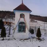 Kapliczka na granicy Gruszowca i Kasiny Wielkiej