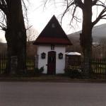 Kapliczka na osiedlu Mazgaje
