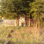 Kapliczka na osiedlu Wydry