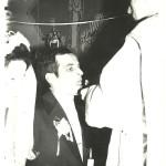 21 luty 1976 rok - ślub -  Anna i Jan Wydrai Jan Wydra