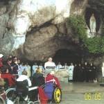 Lourdes ks kanonik Marian Jurasszek-kapelan Kawalerów Maltańskich