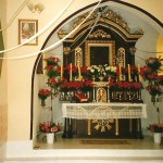 Wnętrze kaplicy lata 90-te