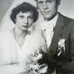 16 sierpnia 1980 rok - ślub  Maria i Wiesław Sieraccy