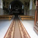 Nowy dywan do Kaplicy - od czczicielki