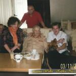 Zakopane. Odwiedziny ciężko chorego Ks. Kanonika Mariana Juraszka