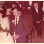 24 wrześień 1988 rok - ślub Michalina i Stanisław Poradzisz