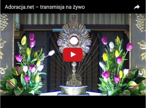 Adoracja Najświętszego Sakramentu – Na Żywo - Kaplica Na Brzegu