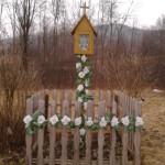 Kapliczka na oś Chrustki