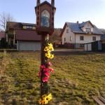 Kapliczka na osiedlu Rogi