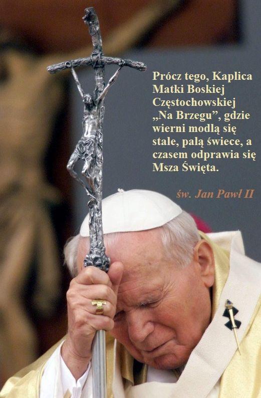 św. Jan Paweł II Kaplica Na Brzegu