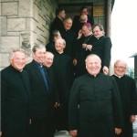 35 - lecie kapłaństwa Kasina Wielka - wraz z kolegami z rocznika