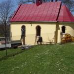 Wymiana okien drewnianych na okna aluminiowe - 27 kwiecień 2010 rok