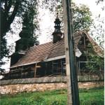 Remont starego kościiła z XVII wieku