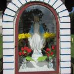 Kapliczka na osiedlu Skwarczki
