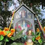 Kapliczka na osiedlu Wójciki