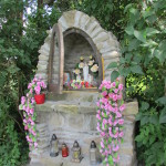 Kapliczka na osiedlu Kubowicze Dolne