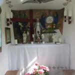 Kapliczka na osiedlu Pańskie