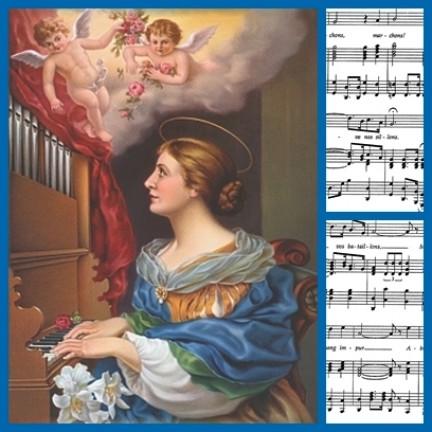 św. Cecylia, dziewica i męczennica
