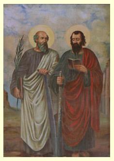święci Apostołowie Szymon i Juda Tadeusz