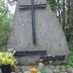 Miejsce rozstrzelania 8 zakładników 23 grudnia 1943 rok