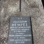 Pomnik żołnierzy  na cmentarzu parafialnym poległych w 1939 roku