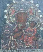 Matka Boża Częstochowska w Kaplicy Na Brzegu w Kasinie Wielkiej