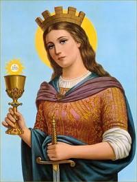 św. Barbara, dziewica i męczennica