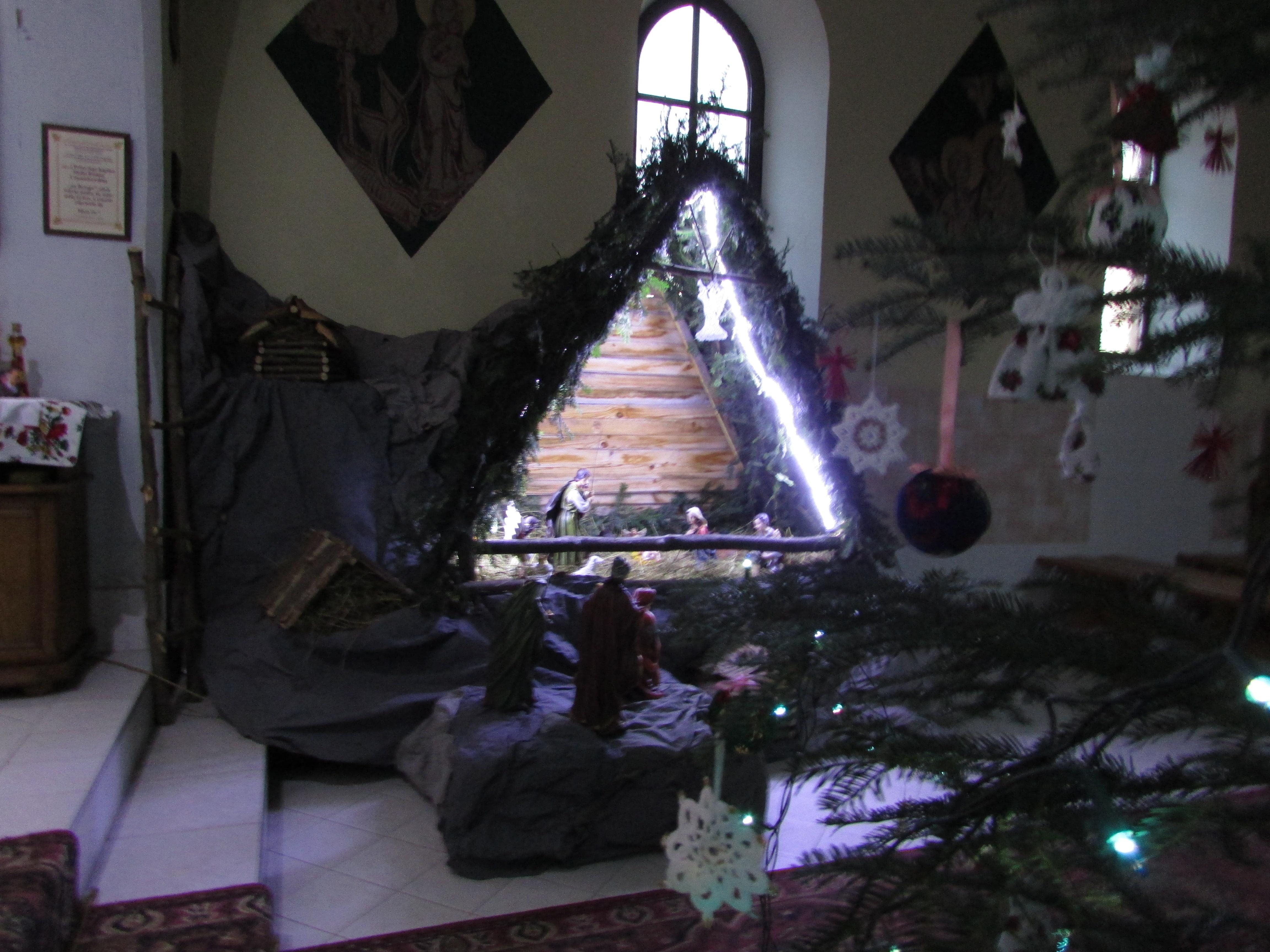 Kaplica Na Brzegu - Boże Narodzenie 2014r.Boże Narodzenie 2014r.
