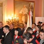 Spotkanie opiekunów Szlaków Papieskich u kard. Stanisława Dziwisza - Kraków 14 marca 2015r. - fot. przesłała Urszula J. Własiuk