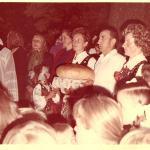 Poświęcenie placu pod budowę  nowego Kościoła Parafialnego - 14. 08. 1982 r.