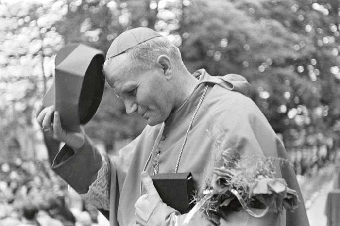 bp Karol Wojtyła Kaplica Na Brzegu Kasina Wielka