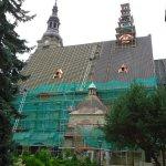 Bazylika Matki Boskiej Bolesnej po wymianie dachu - fot. bazylika-limanowa.pl