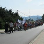 Piesza Pielgrzymka z Dekanatu Mszana Dolna na Jasną Górę 2015