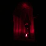Kaplica Na Brzegu nocą - św. Antoni