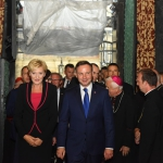 Prezydent Andrzej Duda na Wawelu