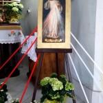 Obraz Jezusa Miłosiernego w Kaplicy Na Brzegu - Jezu Ufam Tobie