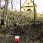"""""""Piwnica Młynkowska"""" - miejsce pochówku 11 zakładników rozstrzelanych 14 listopada 1943 roku przez Niemców"""