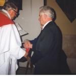 25 maj 1997 rok - 50 rocznica ślubu Rozalia i Franciszek Ślaga