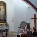 Peregrynacja Symboli ŚDM w Archidiecezji Krakowskiej – Dekanat Mszana Dolna 7 – 8 czerwca