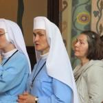 Pielgrzymi przybywający na ŚDM w parafii św. Michała Archanioła