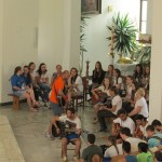 Młodzież z Włoch przybyła na ŚDM Kraków 2016