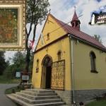 Kościół parafialny wybudowany jako wotum wdzięczności Matce Boskiej Częstochowskiej w Kaplicy Na Brzegu