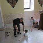 Układanie płytek ściennych i podłogowych 29-30 wrzesień 2016 rok